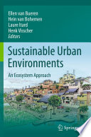 Sustainable Urban Environments Book