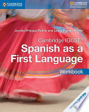 Books - Cambridge Igcse� Spanish As A First Language Workbook | ISBN 9781316632963