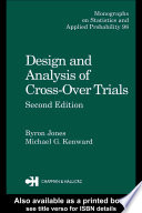 Design and Analysis of Cross Over Trials  Second Edition