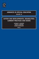 Autism and Developmental Disabilities