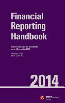 Cover of Financial Reporting Handbook 2014