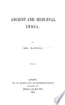 Ancient and Mediaeval India