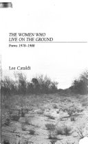 The Women who Live on the Ground Book PDF