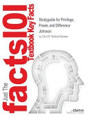 STUDYGUIDE FOR PRIVILEGE POWER