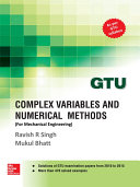 Complex Variables and Numerical Methods (GTU 2016)