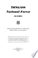 Tongass national forest, Alaska United States Department of agriculture, Forest service, Alaska region...