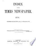 Index to the Times Book