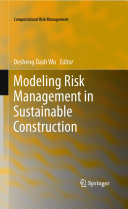 Pdf Modeling Risk Management in Sustainable Construction