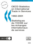 OECD Statistics on International Trade in Services 2003