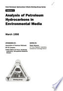 Analysis of Petroleum Hydrocarbons in Environmental Media
