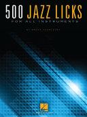 500 Jazz Licks