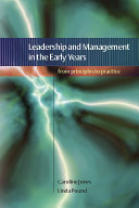 Leadership and Management in the Early Years