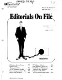 Editorials on File