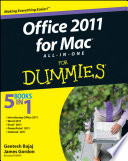 Office 2011 For Mac All In One For Dummies