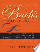 Bach S Cello Suites Volumes 1 And 2