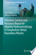 book cover:Pollution control and resource reuse fo
