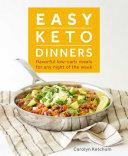 Easy Keto Dinners Pdf/ePub eBook