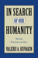 In Search of Our Humanity Book PDF