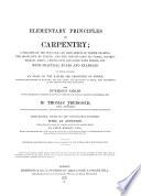 Elementary Principles Of Carpentry Book PDF