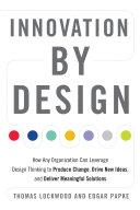 Innovation by Design Pdf/ePub eBook