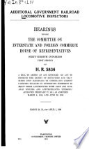 Additional Government Railroad Locomotive Inspectors Book PDF