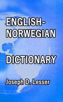 English / Norwegian Dictionary Pdf/ePub eBook