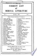 Current List of Medical Literature