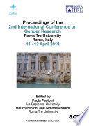 """ICGR 2019 2nd International Conference on Gender Research"" by Prof. Paola Paoloni, Prof. Mauro Paoloni, Prof. Simona Arduini"