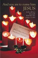 Christmas Music Bulletin Regular 2008 Package Of 50