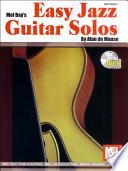 Easy Jazz Guitar Solos Book