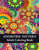 Geometric Pattern Adult Coloring Book
