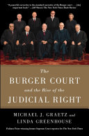 The Burger Court and the Rise of the Judicial Right Pdf/ePub eBook