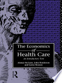 Economics of Health Care Book