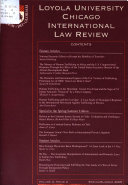 International Law Review