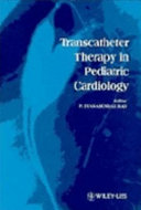 Transcatheter Therapy in Pediatric Cardiology Book