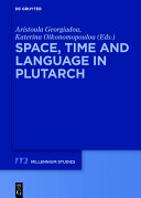 Pdf Space, Time and Language in Plutarch Telecharger