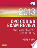 Physician Coding Exam Review 2013