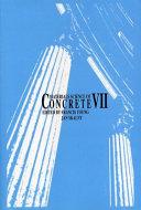 Materials Science of Concrete VII Book