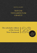Nestle Aland Novum Testamentum Graece