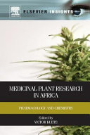 Medicinal Plant Research in Africa  Pharmacology and Chemistry