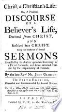 Christ A Christian S Life