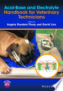 Acid Base And Electrolyte Handbook For Veterinary Technicians Book PDF
