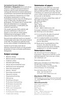 International Journal of Business Performance Management