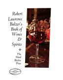 Pdf Robert Lawrence Balzer's Book of Wines & Spirits