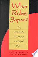 Who Rules Japan  Book PDF