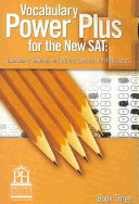Vocabulary Power Plus for the New SAT