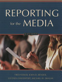 Cover of Reporting for the media