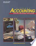 Glencoe Accounting: Concepts/Procedures/Applications, Student Edition, Chapters 1-28