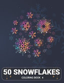 50 Snowflakes Coloring Book 4