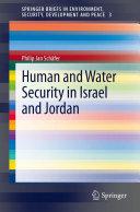 Human and Water Security in Israel and Jordan Pdf/ePub eBook